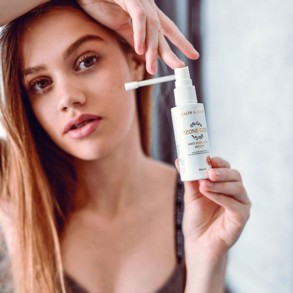 8680885440836 OZONE GOLD - Anti hair loss serum Panthenol anti hair loss hair loss cure hair growth ozonized olive oil ozone gold ozone