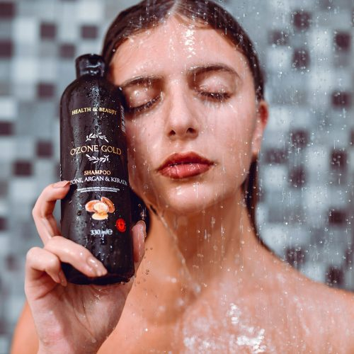 8680885440935 OZONE GOLD - Shampoo with Ozone shampoo dry scalp dandruff argan oil shampoo keratin oil shampoo ozone gold ozone