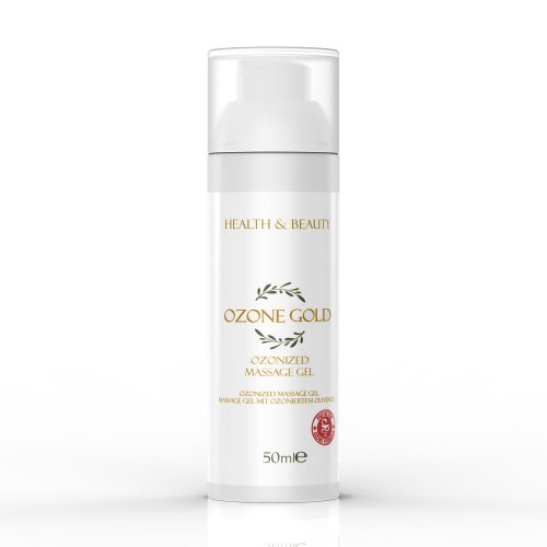 8680885440812 OZONE GOLD - Ozonized massage gel deep tissue massage massage gel essential oils muscle tension ozonized olive oil ozone gold ozone