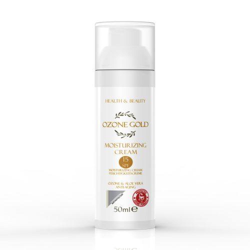 hyaluronic acid Sun cream 15spf anti age cream Sun protection moisturizer ozone gold ozone