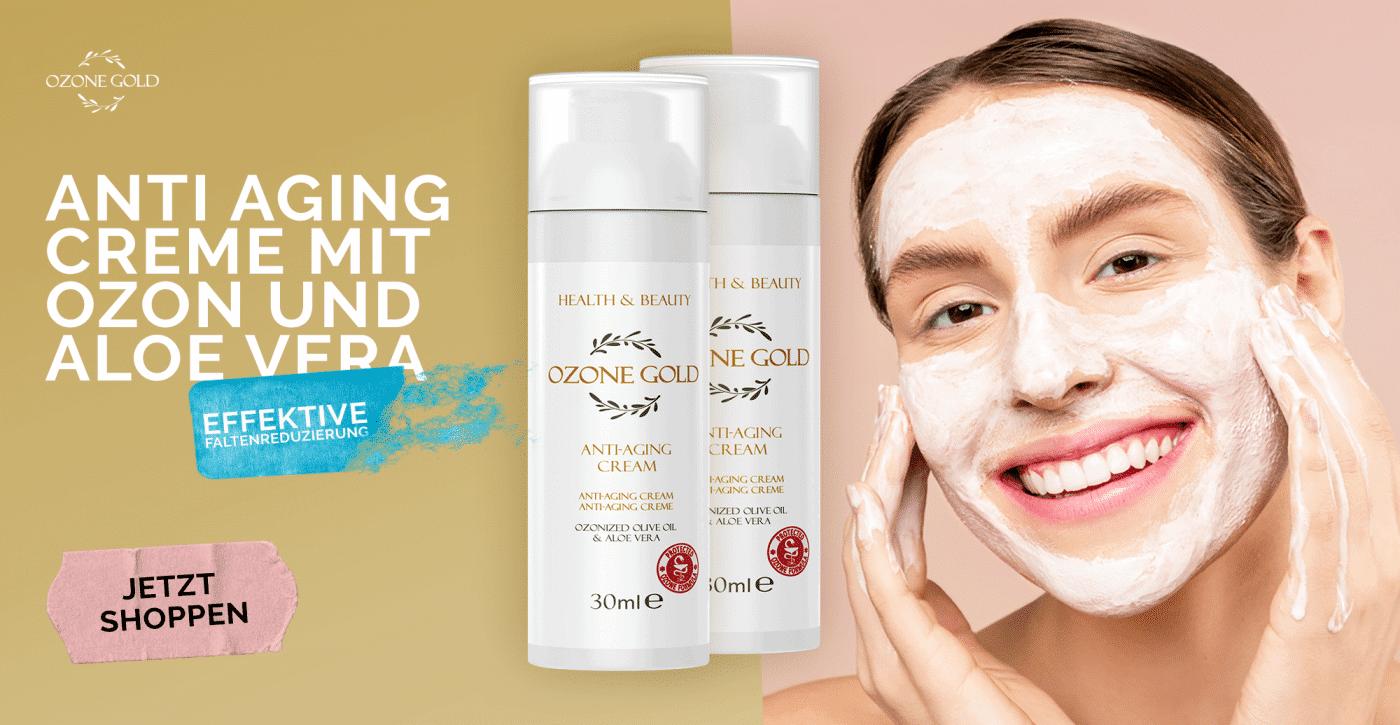 8680885440775 OZONE GOLD - Anti-Aging cream anti age cream hyaluronic acid night cream anti wrinkle moisturizer ozone gold ozone